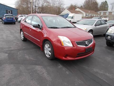 2012 Nissan Sentra for sale at MATTESON MOTORS in Raynham MA