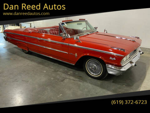 1963 Ford Galaxie 500XL for sale at Dan Reed Autos in Escondido CA