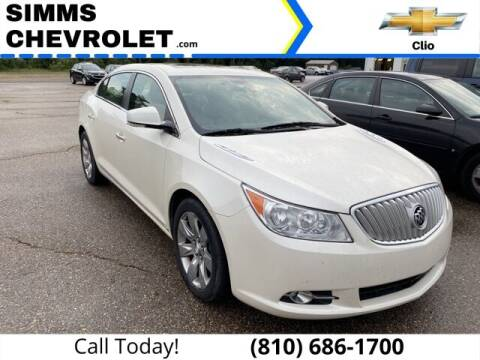 2010 Buick LaCrosse for sale at Aaron Adams @ Simms Chevrolet in Clio MI