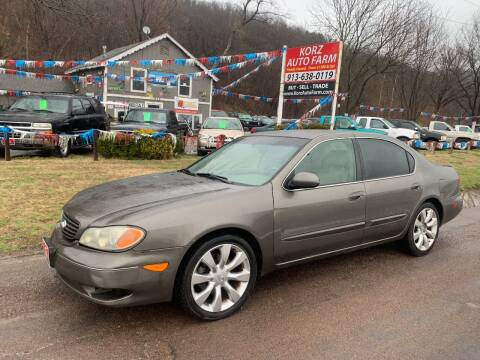 2002 Infiniti I35 for sale at Korz Auto Farm in Kansas City KS