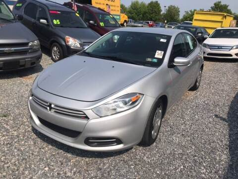 2013 Dodge Dart for sale at McNamara Auto Sales - Dover Lot in Dover PA