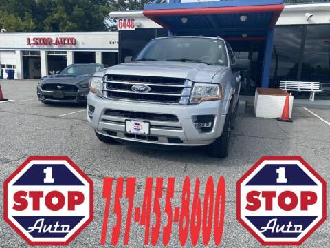 2017 Ford Expedition EL for sale at 1 Stop Auto in Norfolk VA