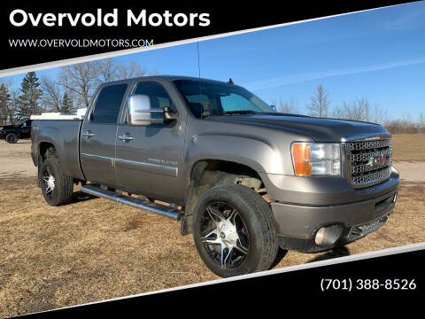 2012 GMC Sierra 2500HD for sale at Overvold Motors in Detriot Lakes MN