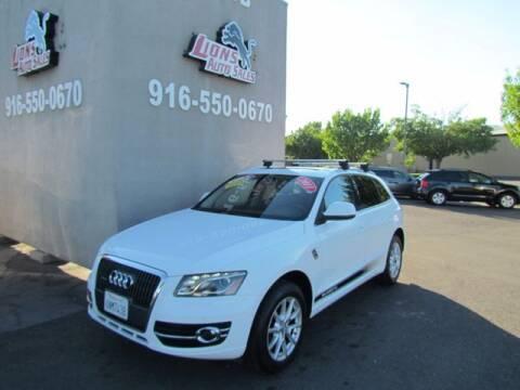 2011 Audi Q5 for sale at LIONS AUTO SALES in Sacramento CA
