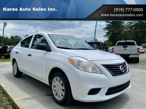 2013 Nissan Versa for sale at Karas Auto Sales Inc. in Sanford NC