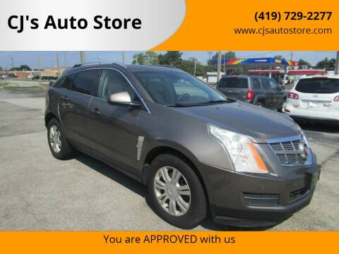 2012 Cadillac SRX for sale at CJ's Auto Store in Toledo OH