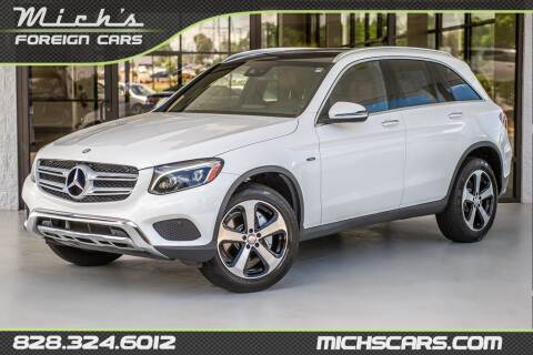 2016 Mercedes-Benz GLC for sale at Mich's Foreign Cars in Hickory NC