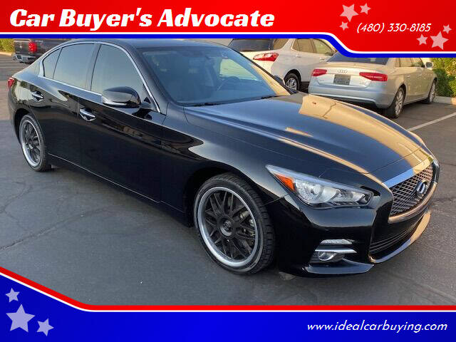 2017 Infiniti Q50 for sale at Car Buyer's Advocate in Phoenix AZ