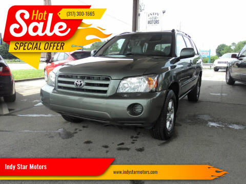 2006 Toyota Highlander for sale at Indy Star Motors in Indianapolis IN