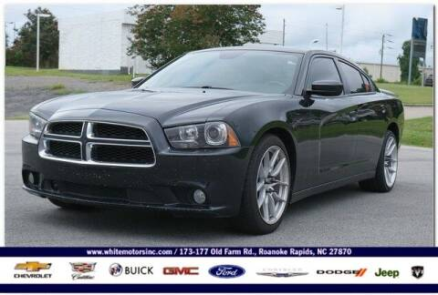 2014 Dodge Charger for sale at WHITE MOTORS INC in Roanoke Rapids NC