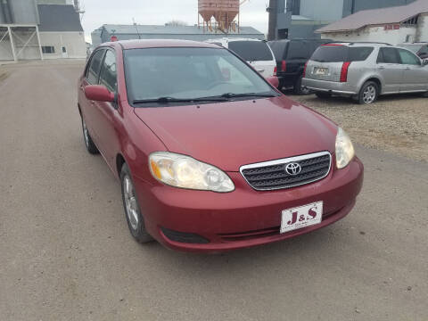 2005 Toyota Corolla for sale at J & S Auto Sales in Thompson ND