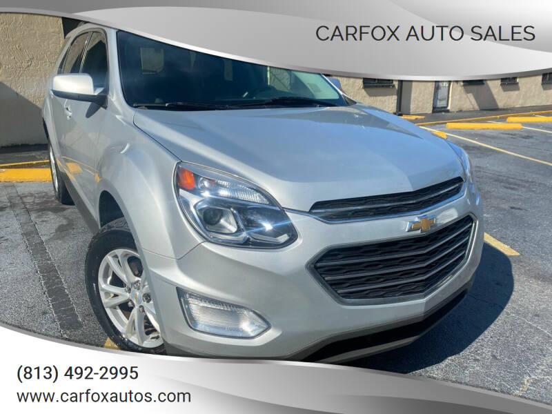 2017 Chevrolet Equinox for sale at Carfox Auto Sales in Tampa FL