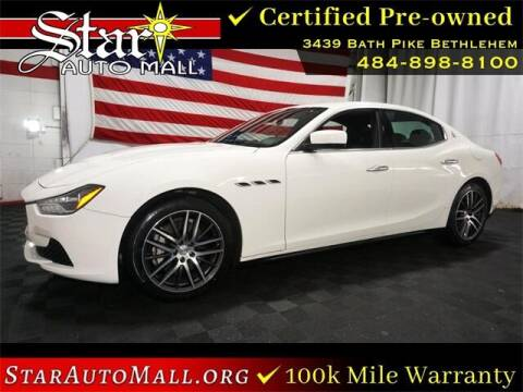 2014 Maserati Ghibli for sale at STAR AUTO MALL 512 in Bethlehem PA