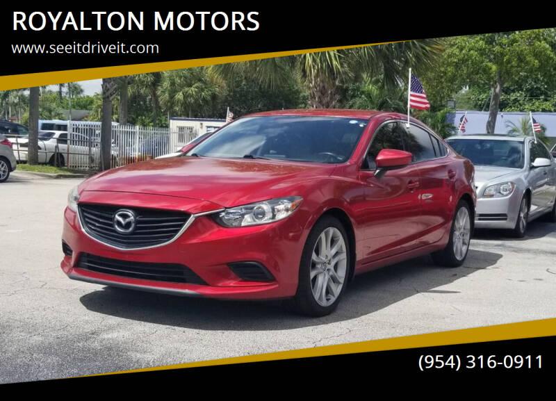 2016 Mazda MAZDA6 for sale at ROYALTON MOTORS in Plantation FL