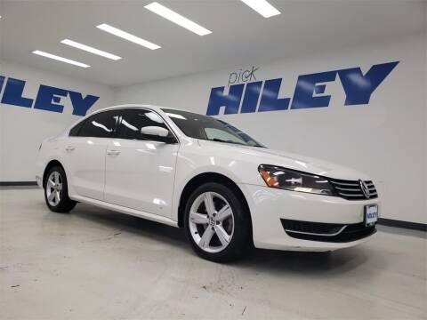 2014 Volkswagen Passat for sale at HILEY MAZDA VOLKSWAGEN of ARLINGTON in Arlington TX