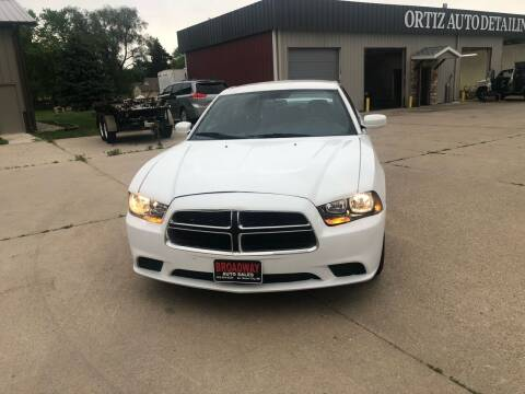 2013 Dodge Charger for sale at Broadway Auto Sales in South Sioux City NE