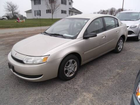 2003 Saturn Ion for sale at Clucker's Auto in Westby WI