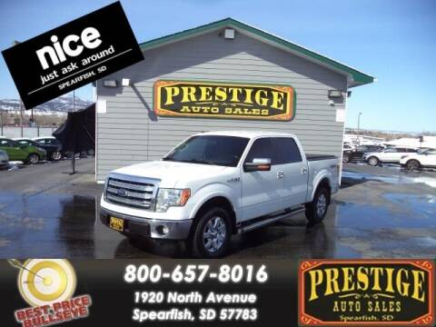 2013 Ford F-150 for sale at PRESTIGE AUTO SALES in Spearfish SD