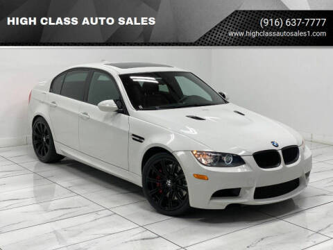2009 BMW M3 for sale at HIGH CLASS AUTO SALES in Rancho Cordova CA