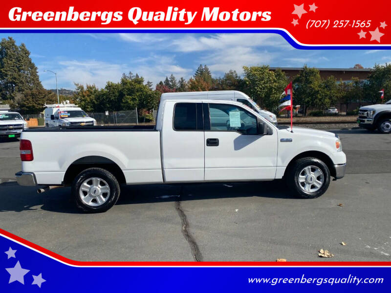 2004 Ford F-150 for sale at Greenbergs Quality Motors in Napa CA