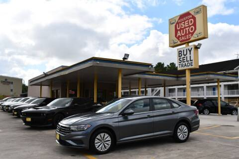 2019 Volkswagen Jetta for sale at Houston Used Auto Sales in Houston TX
