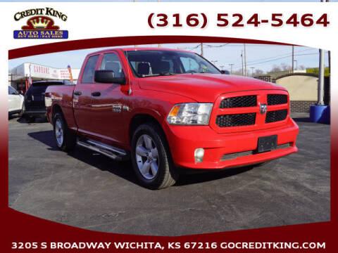 2013 RAM Ram Pickup 1500 for sale at Credit King Auto Sales in Wichita KS