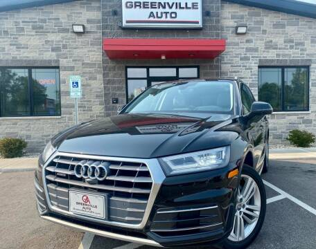 2018 Audi Q5 for sale at GREENVILLE AUTO in Greenville WI