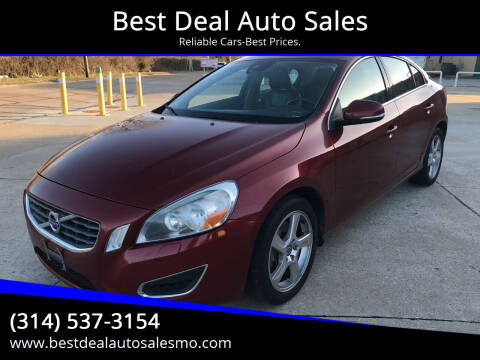 2013 Volvo S60 for sale at Best Deal Auto Sales in Saint Charles MO
