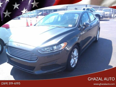 2016 Ford Fusion for sale at Ghazal Auto in Sturgis MI