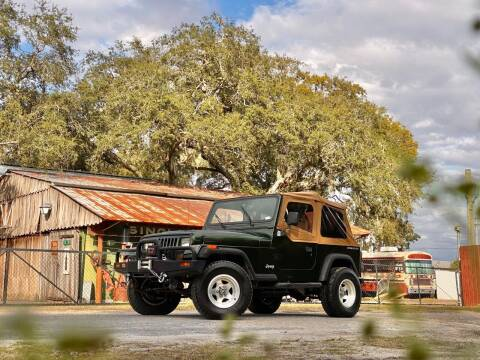 1995 Jeep Wrangler for sale at OVE Car Trader Corp in Tampa FL