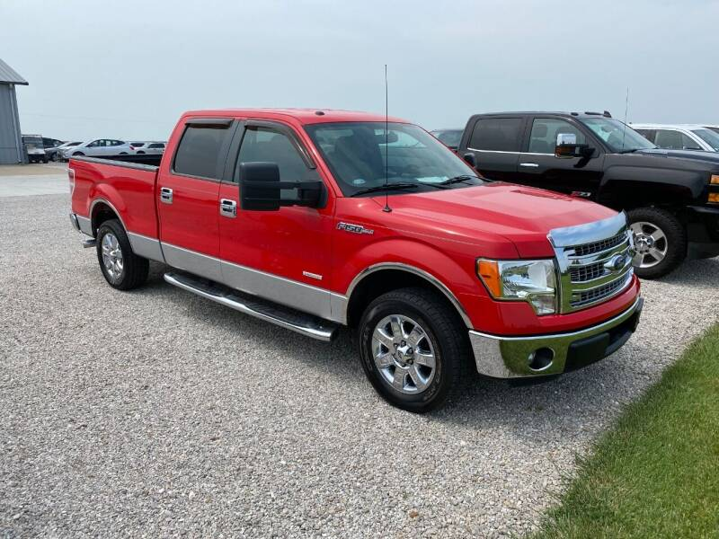 2013 Ford F-150 for sale at Burtle Motors in Auburn IL