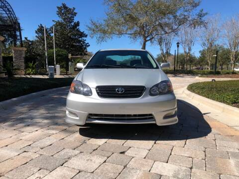 2006 Toyota Corolla for sale at M&M and Sons Auto Sales in Lutz FL