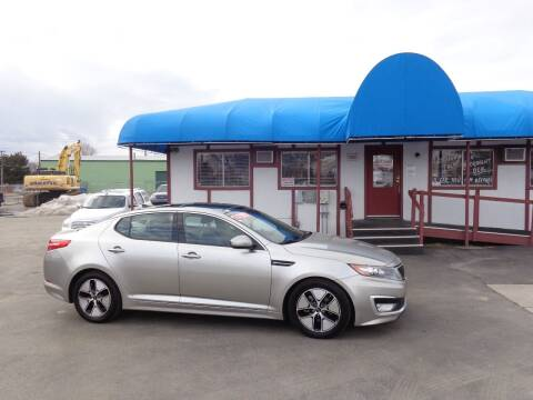 2012 Kia Optima Hybrid for sale at Jim's Cars by Priced-Rite Auto Sales in Missoula MT