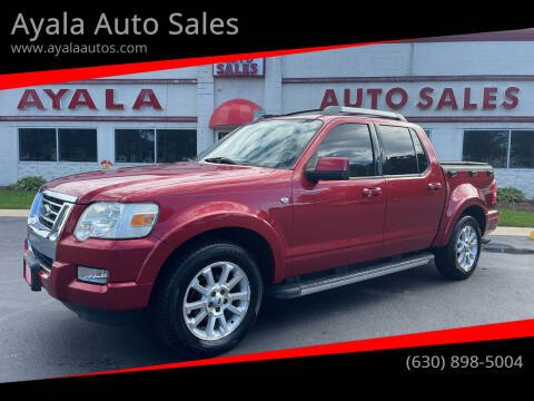 2008 Ford Explorer Sport Trac for sale at Ayala Auto Sales in Aurora IL