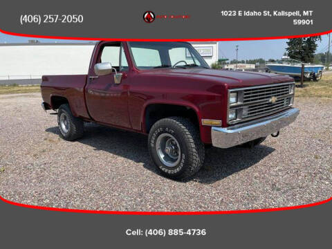 1984 Chevrolet C/K 10 Series for sale at Auto Solutions in Kalispell MT