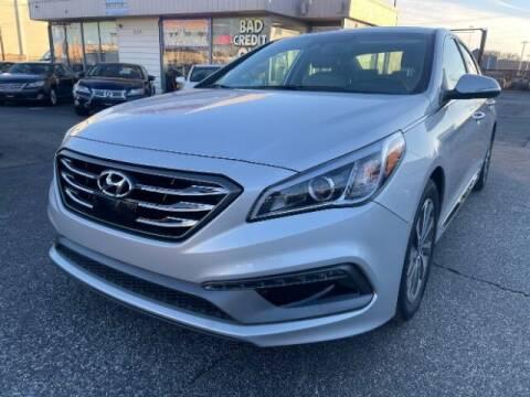 2017 Hyundai Sonata for sale at A&R Motors in Baltimore MD