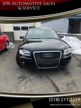 2007 Audi A8 L for sale at 696 Automotive Sales & Service in Troy NY