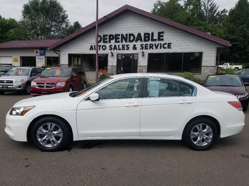 2012 Honda Accord for sale at Dependable Auto Sales and Service in Binghamton NY