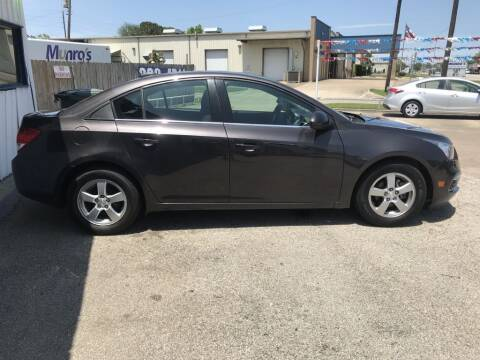 2015 Chevrolet Cruze for sale at AMERICAN AUTO COMPANY in Beaumont TX