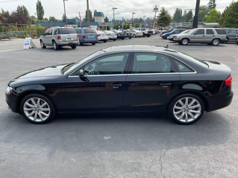 2013 Audi A4 for sale at Westside Motors in Mount Vernon WA