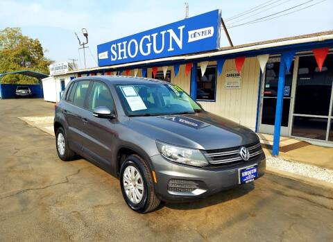 2012 Volkswagen Tiguan for sale at Shogun Auto Center in Hanford CA