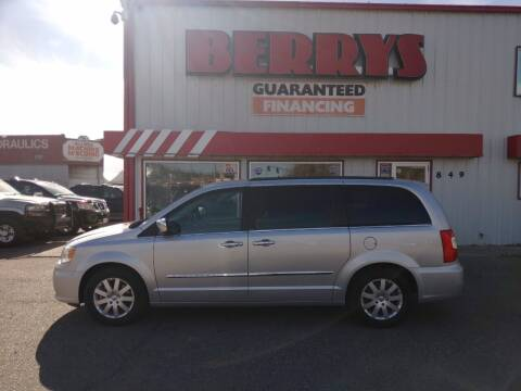 2012 Chrysler Town and Country for sale at Berry's Cherries Auto in Billings MT