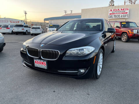 2013 BMW 5 Series for sale at Adams Auto Sales in Sacramento CA