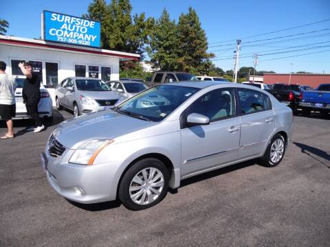 2012 Nissan Sentra for sale at Surfside Auto Company in Norfolk VA