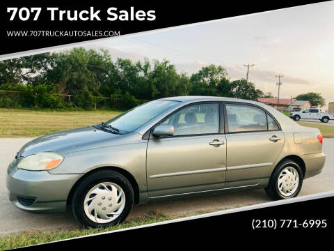 2003 Toyota Corolla for sale at 707 Truck Sales in San Antonio TX