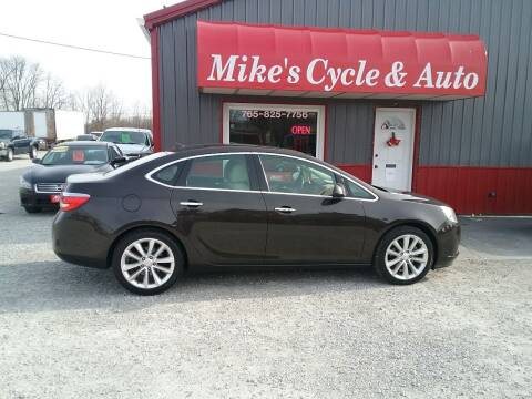 2013 Buick Verano for sale at MIKE'S CYCLE & AUTO in Connersville IN