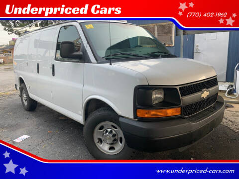 2013 Chevrolet Express Cargo for sale at Underpriced Cars in Marietta GA