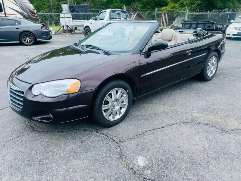 2004 Chrysler Sebring for sale at University Auto Sales of Little Rock in Little Rock AR