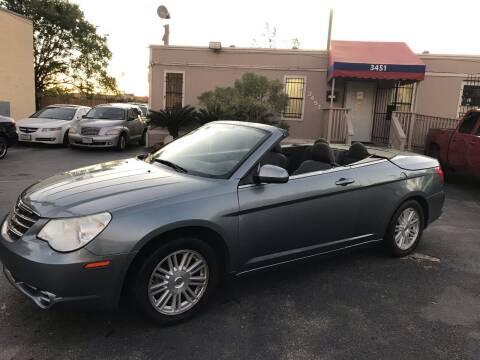 2009 Chrysler Sebring for sale at Saipan Auto Sales in Houston TX