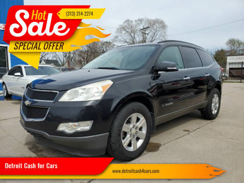 2009 Chevrolet Traverse for sale at Detroit Cash for Cars in Warren MI